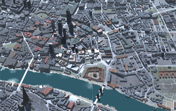 Broken Civilisation London Map